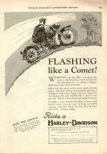 1929 Ad - Flashing Like a Comet