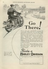 1929 Ad - Go There