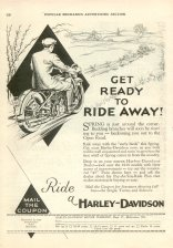1930 Ad - Get Ready To Ride Away