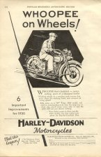 1930 Ad - Whoopee on Wheels