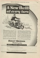 1931 Ad - A New Thrill at Every Turn