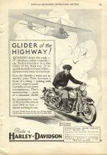 1931 Ad - Glider of the Highway