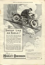 1931 Ad - Swoop Like an Eagle