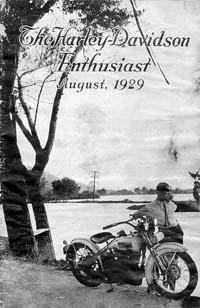 The Enthusiast Fall of 1928-30